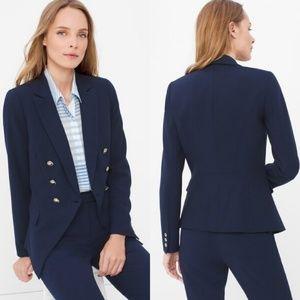 WHBM Trophy Jacket/Blazer Officer Blue Plus Sz 14